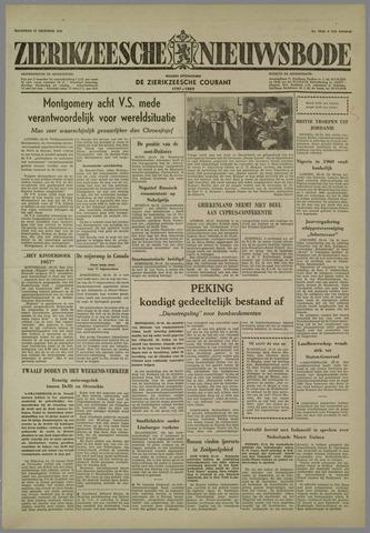 Zierikzeesche Nieuwsbode 1958-10-27