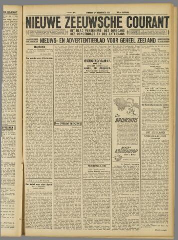Nieuwe Zeeuwsche Courant 1929-12-24