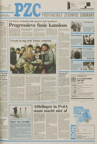 Provinciale Zeeuwse Courant 1992-03-16