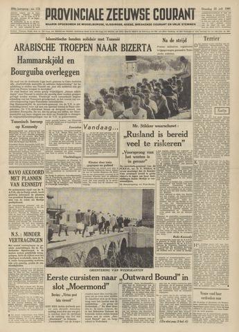 Provinciale Zeeuwse Courant 1961-07-25