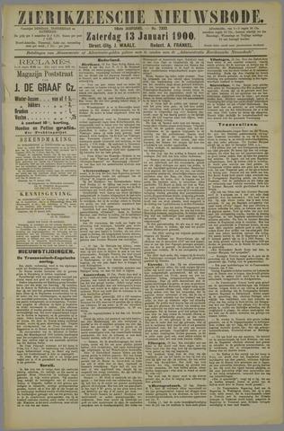 Zierikzeesche Nieuwsbode 1900-01-13