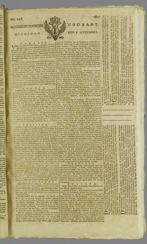Middelburgsche Courant 1807-09-08