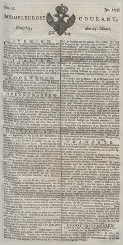 Middelburgsche Courant 1777-03-25