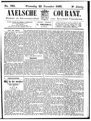 Axelsche Courant 1893-11-22