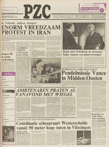 Provinciale Zeeuwse Courant 1978-12-11