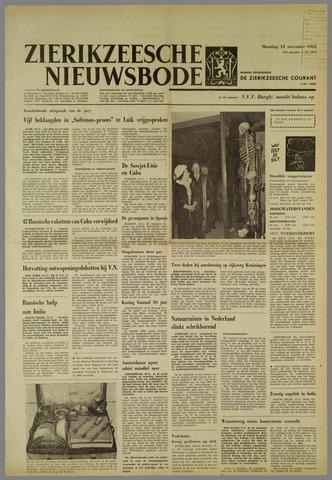 Zierikzeesche Nieuwsbode 1962-11-12