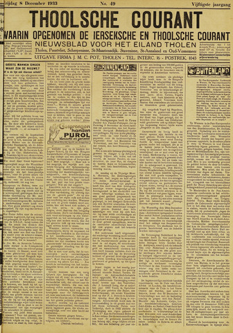 Ierseksche en Thoolsche Courant 1933-12-08