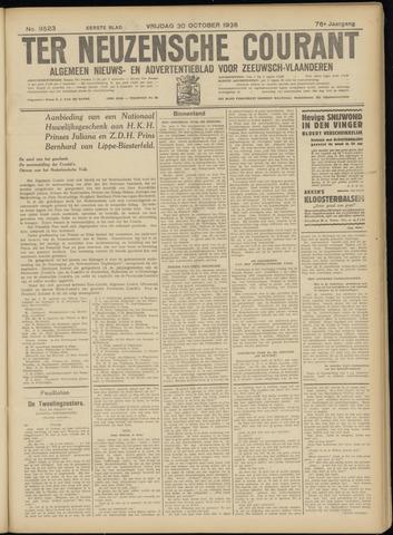 Ter Neuzensche Courant. Algemeen Nieuws- en Advertentieblad voor Zeeuwsch-Vlaanderen / Neuzensche Courant ... (idem) / (Algemeen) nieuws en advertentieblad voor Zeeuwsch-Vlaanderen 1936-10-30