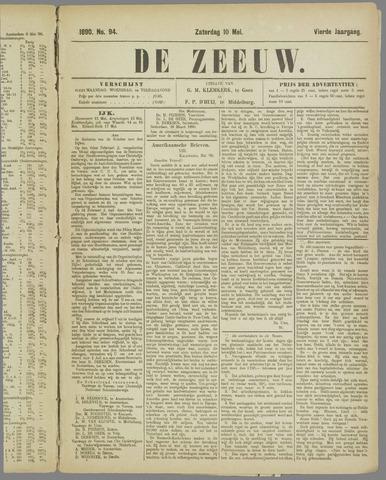 De Zeeuw. Christelijk-historisch nieuwsblad voor Zeeland 1890-05-10