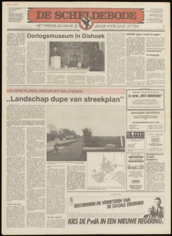Scheldebode 1986-05-15