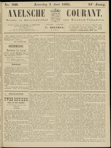 Axelsche Courant 1895-06-01