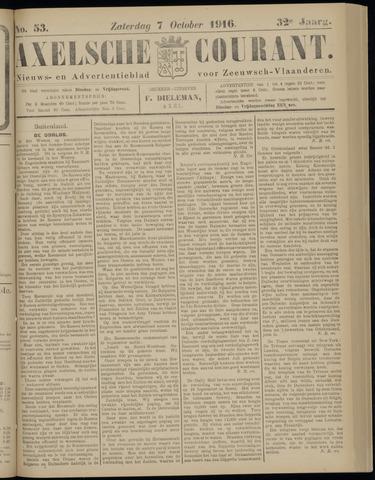 Axelsche Courant 1916-10-07