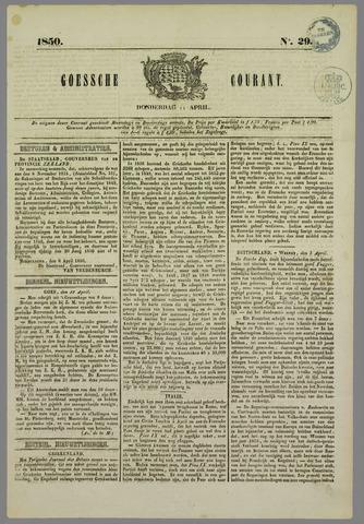 Goessche Courant 1850-04-11