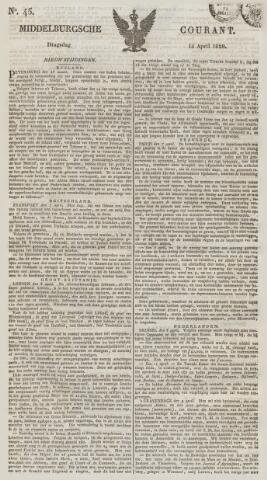 Middelburgsche Courant 1829-04-14