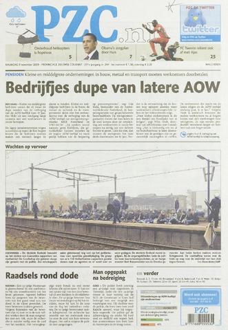 Provinciale Zeeuwse Courant 2009-11-09