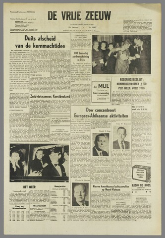 de Vrije Zeeuw 1965-12-24