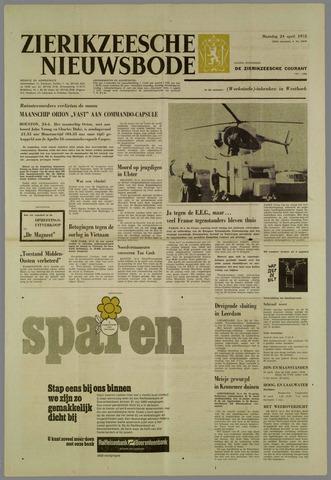 Zierikzeesche Nieuwsbode 1972-04-24