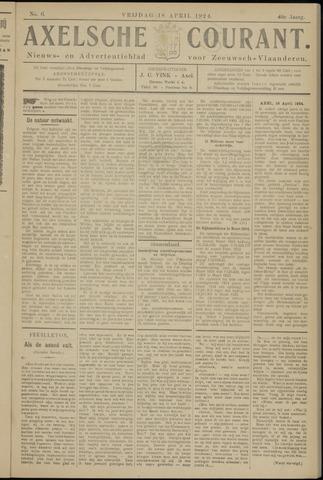 Axelsche Courant 1924-04-18