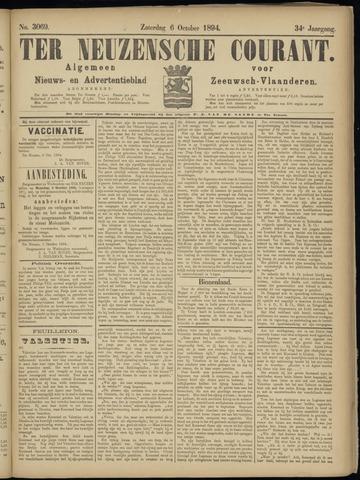 Ter Neuzensche Courant. Algemeen Nieuws- en Advertentieblad voor Zeeuwsch-Vlaanderen / Neuzensche Courant ... (idem) / (Algemeen) nieuws en advertentieblad voor Zeeuwsch-Vlaanderen 1894-10-06