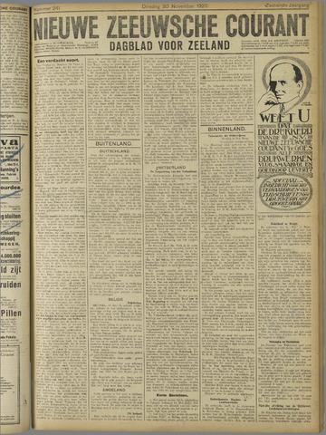 Nieuwe Zeeuwsche Courant 1920-11-30