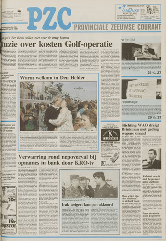 Provinciale Zeeuwse Courant 1991-04-20