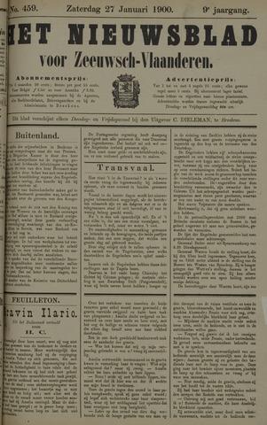 Nieuwsblad voor Zeeuwsch-Vlaanderen 1900-01-27