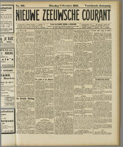 Nieuwe Zeeuwsche Courant 1918-10-08