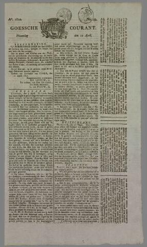Goessche Courant 1820-04-10