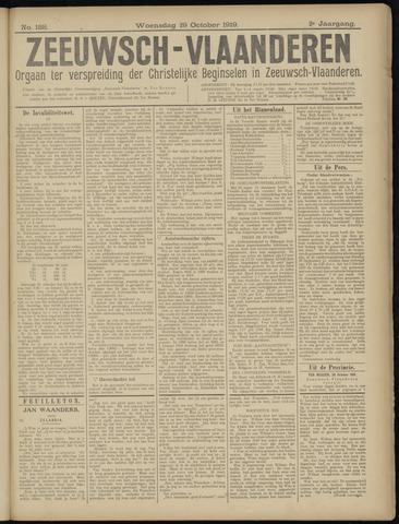 Luctor et Emergo. Antirevolutionair nieuws- en advertentieblad voor Zeeland / Zeeuwsch-Vlaanderen. Orgaan ter verspreiding van de christelijke beginselen in Zeeuwsch-Vlaanderen 1919-10-29