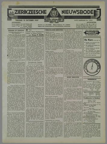 Zierikzeesche Nieuwsbode 1937-10-15