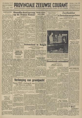 Provinciale Zeeuwse Courant 1948-09-11