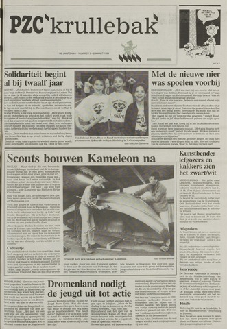 Provinciale Zeeuwse Courant katern Krullenbak (1981-1999) 1994-03-08