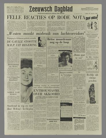 Zeeuwsch Dagblad 1961-08-25
