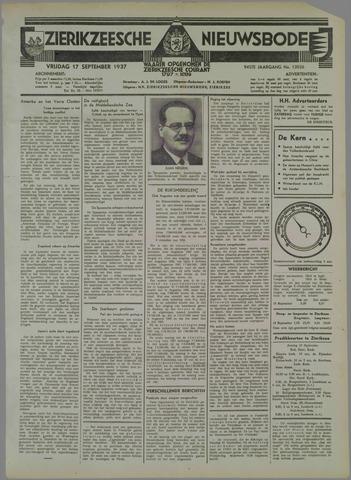 Zierikzeesche Nieuwsbode 1937-09-17