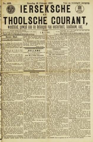 Ierseksche en Thoolsche Courant 1907-02-16
