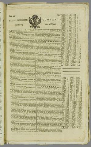 Middelburgsche Courant 1809-03-16