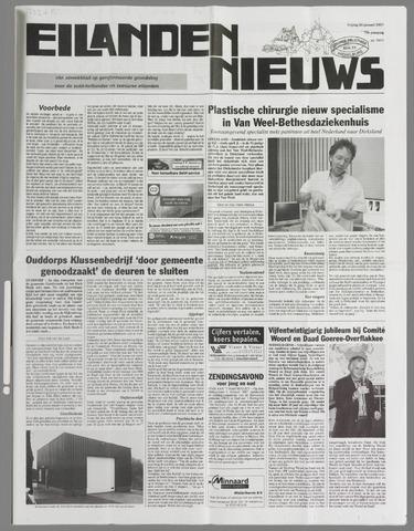 Eilanden-nieuws. Christelijk streekblad op gereformeerde grondslag 2007-01-26