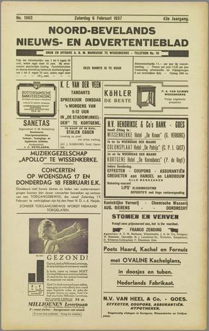 Noord-Bevelands Nieuws- en advertentieblad 1937-02-06