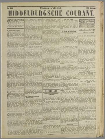 Middelburgsche Courant 1919-07-01