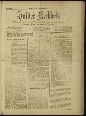 Zuider Kerkbode, Weekblad gewijd aan de belangen der gereformeerde kerken in Zeeland, Noord-Brabant en Limburg. 1902