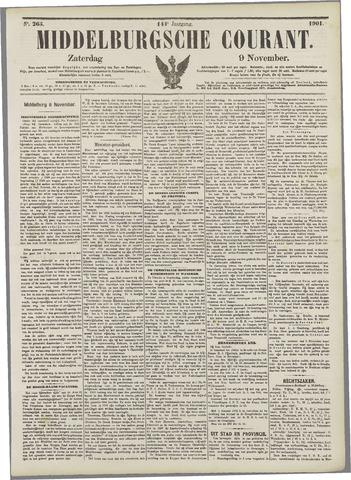 Middelburgsche Courant 1901-11-09