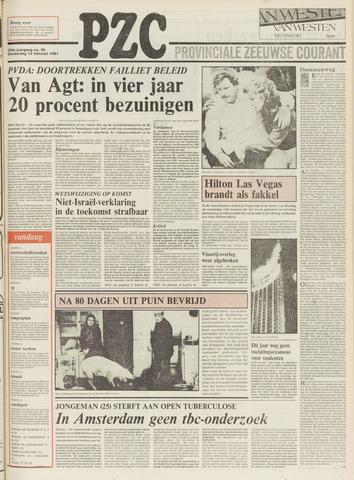 Provinciale Zeeuwse Courant 1981-02-12