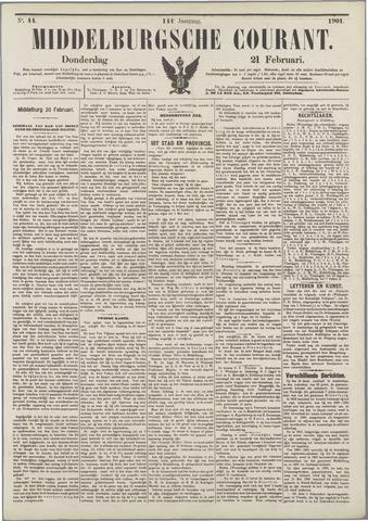 Middelburgsche Courant 1901-02-21
