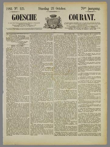 Goessche Courant 1883-10-23