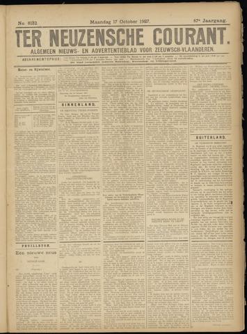 Ter Neuzensche Courant. Algemeen Nieuws- en Advertentieblad voor Zeeuwsch-Vlaanderen / Neuzensche Courant ... (idem) / (Algemeen) nieuws en advertentieblad voor Zeeuwsch-Vlaanderen 1927-10-17