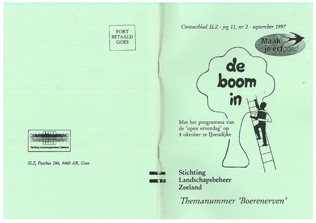 Landschapsbeheer Zeeland - de Boom in 1997-09-01