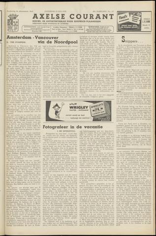 Axelsche Courant 1955-07-23