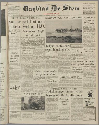 de Stem 1960-11-03