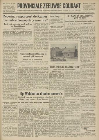 Provinciale Zeeuwse Courant 1949-08-17