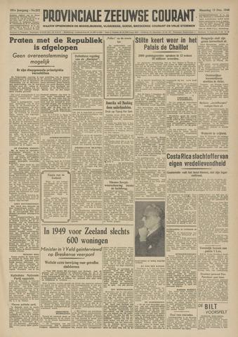 Provinciale Zeeuwse Courant 1948-12-13